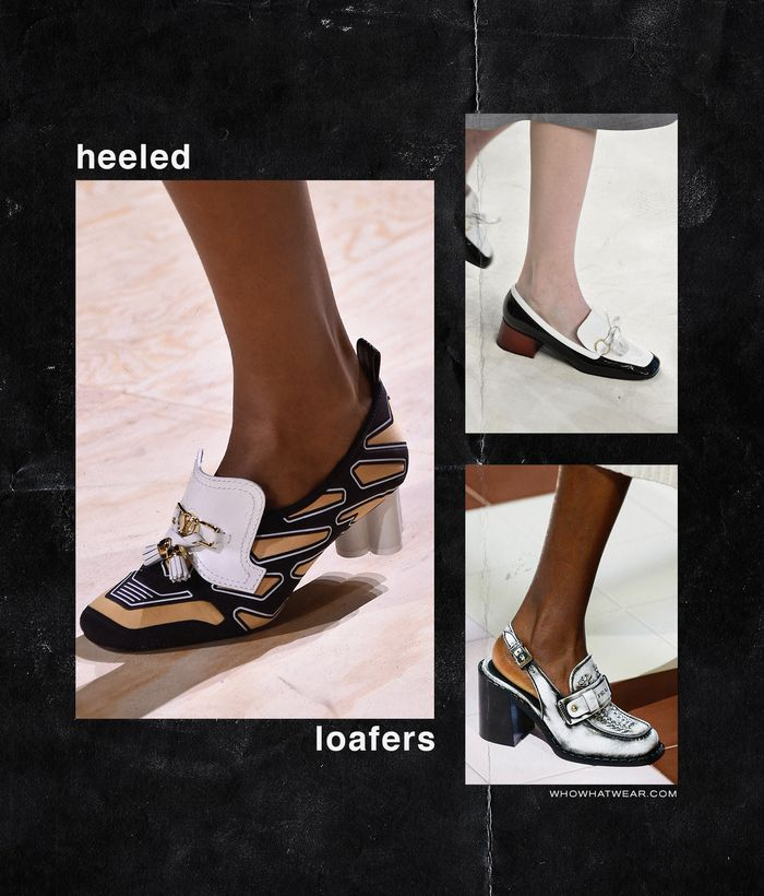 Spring, Summer Shoe Trends 2020: Heeled Loafers
