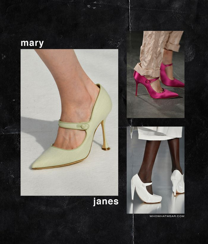 Spring, Summer Shoe Trends 2020: Mary Janes