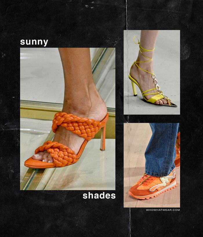 Spring, Summer Shoe Trends 2020: Sunny Shades