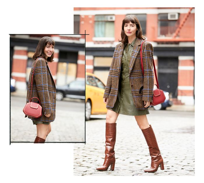 red handbags croc boots