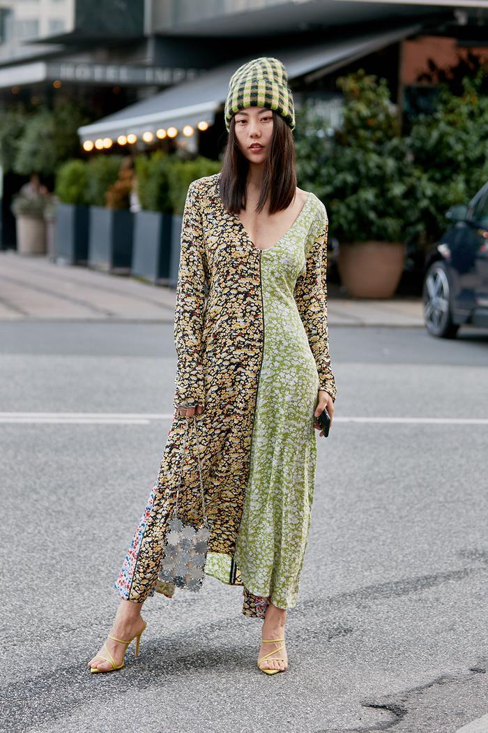 Stine Goya floral dress