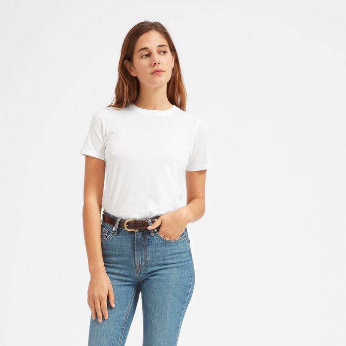 The 9 Best Outfits Ideas for Plain White T-Shirts | Who What Wear