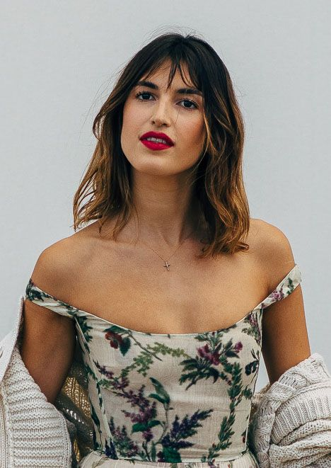 French haircuts: Jeanne Damas