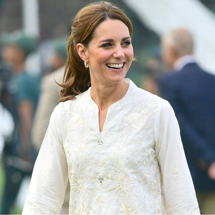Kate Middleton Wore $50 British Sneakers on Her Royal Tour of Pakistan