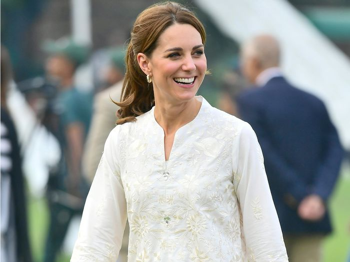 Kate Middleton's White Sneakers on Her Pakistan Tour