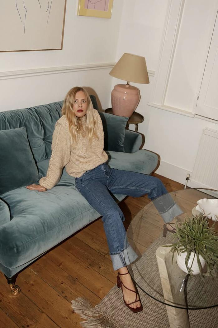 Topshop Boutique influencer jeans: worn by Jessie Bush
