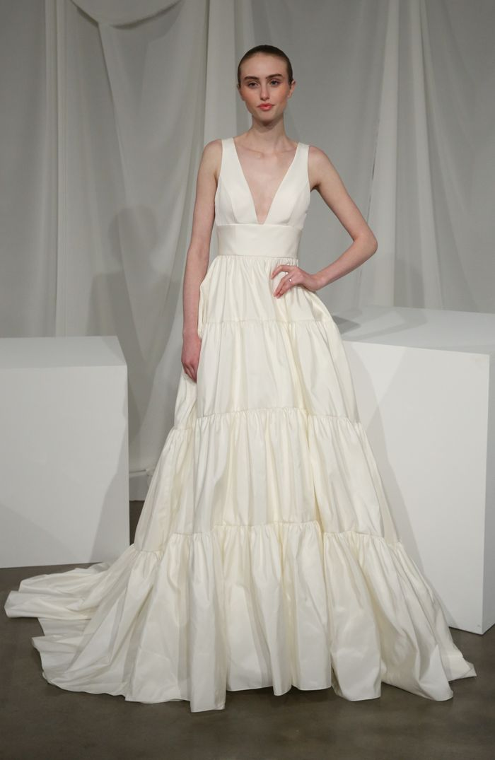 These Are Going To Be The Top Wedding Dress Trends Of 2020 Who What Wear Uk