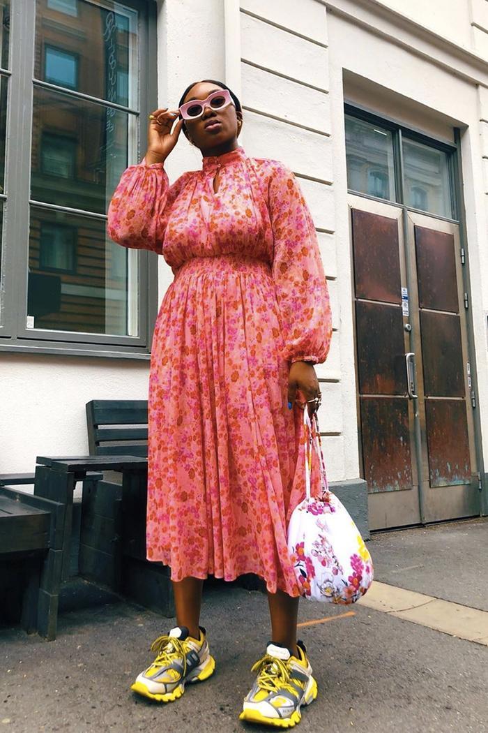 70s dress trend: Nnenna Echem