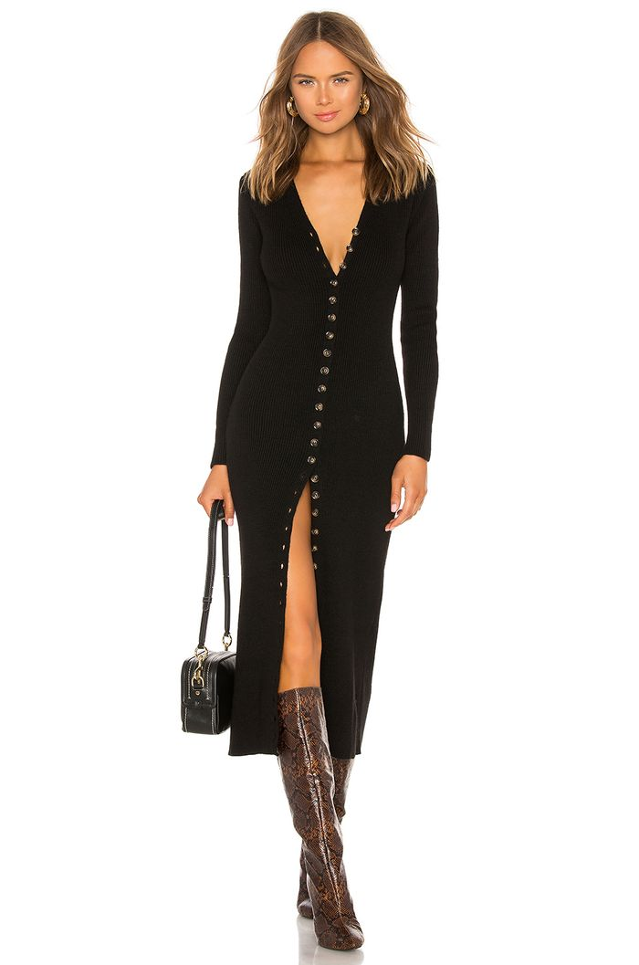 21 Cute Long,Sleeve Dresses to Keep You From Freezing