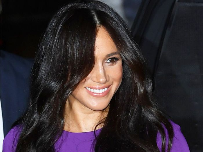Meghan Markle Wore an Affordable Purple Dress From Aritzia