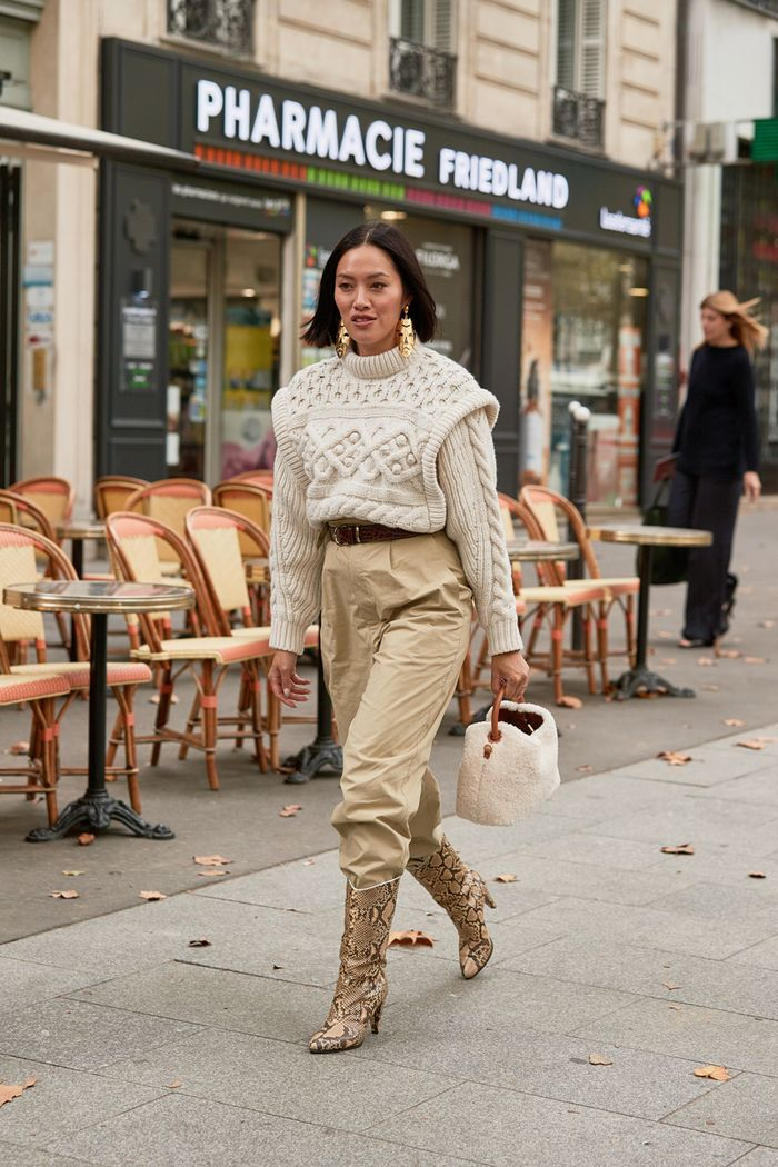 Winter trends: chunky knits with a twist