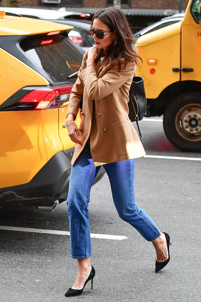 Katie Holmes outfit trend