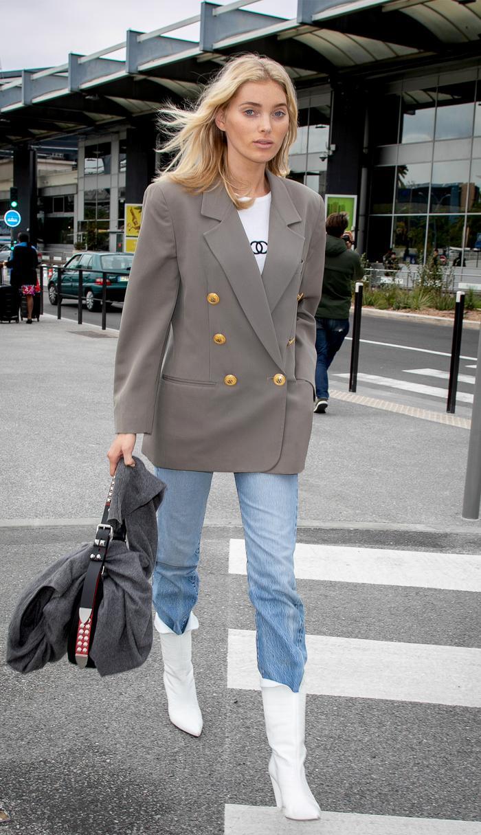 Elsa Hosk Best Celebrity Airport Style