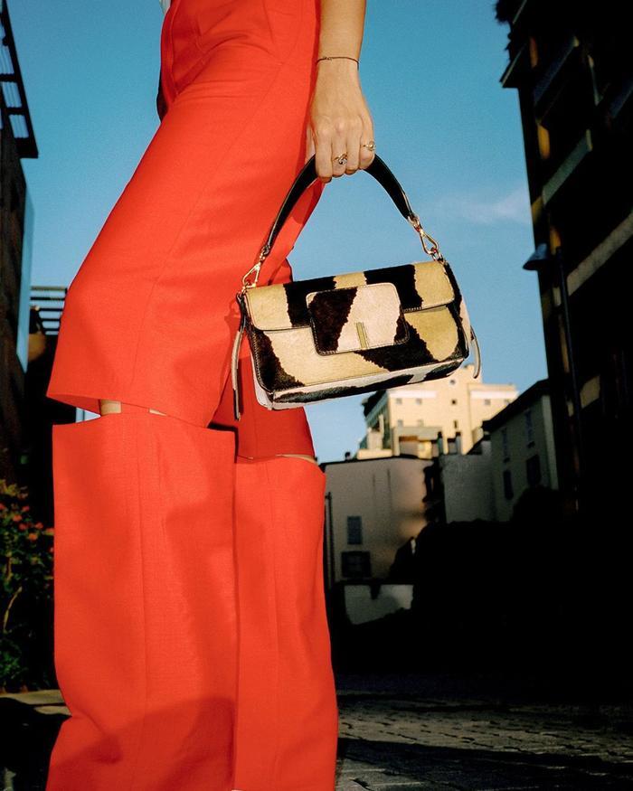 Winter handbag trends: zebra
