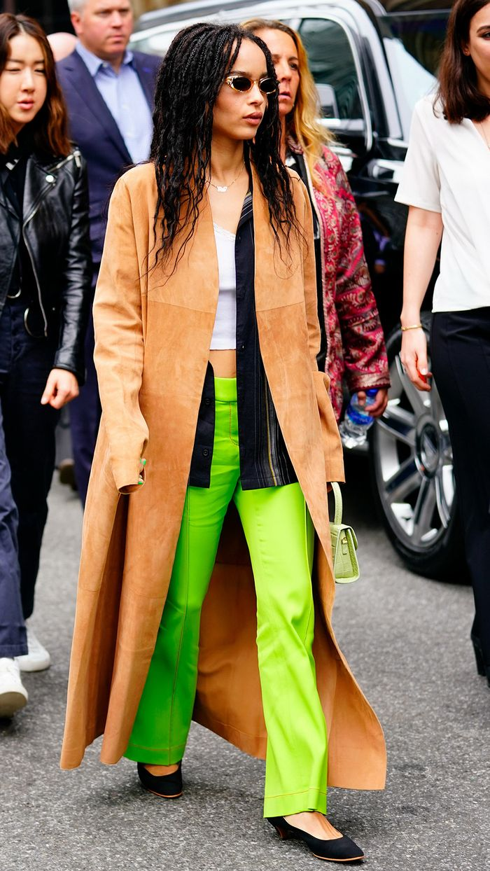 Best Celebrity Outfits of 2019: Zoe Kravitz
