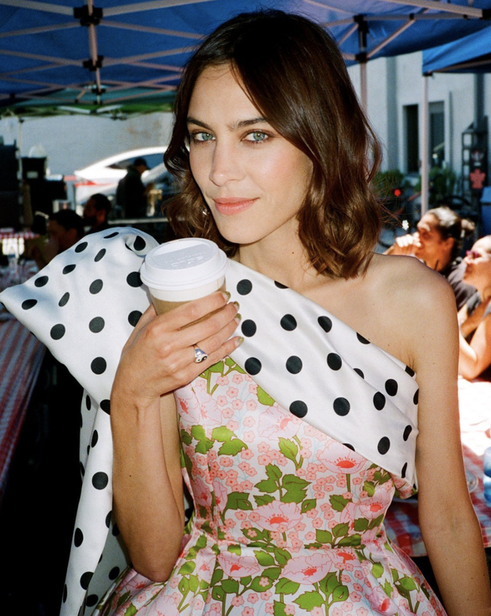 Best Celebrity Hairstyles: Alexa Chung