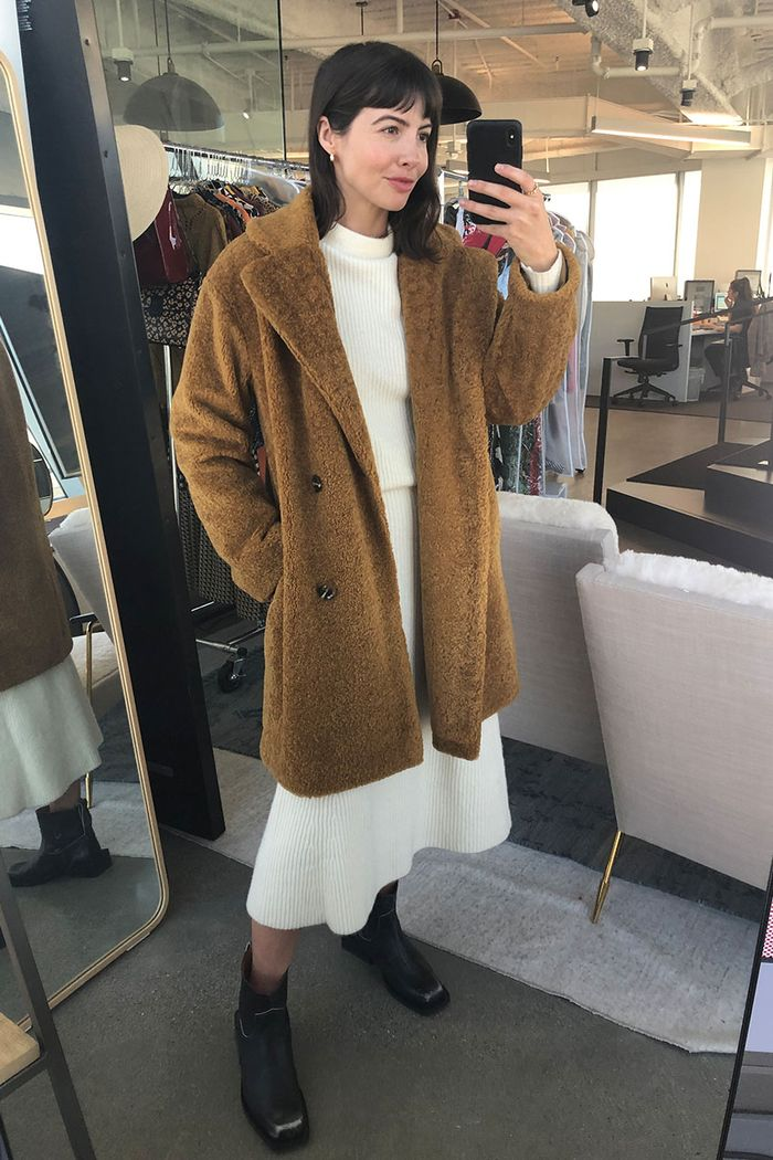 Who What Wear new arrivals: teddy coat