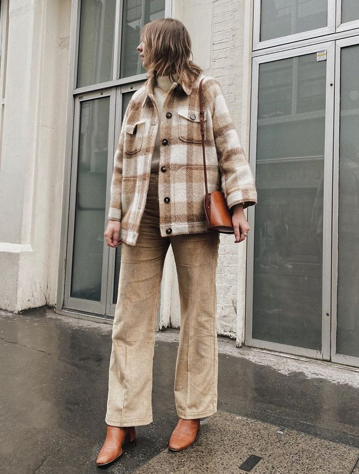 Best High Street Checked Jackets: @bubblyaquarius wears a check jacket