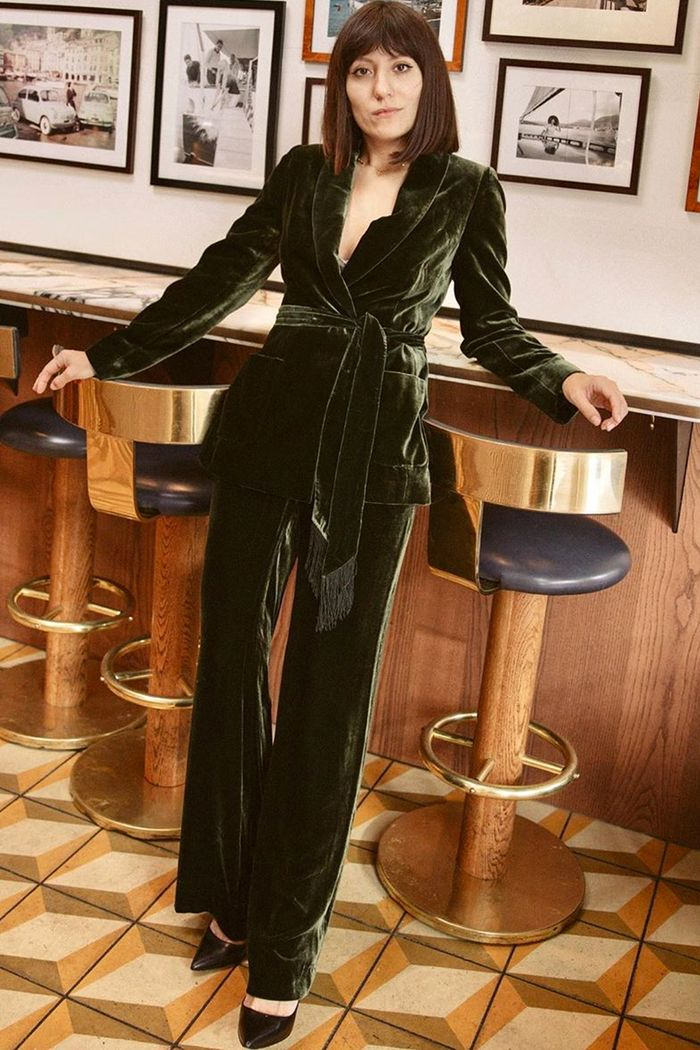 Best high street velvet buys: Katherine Ormerod