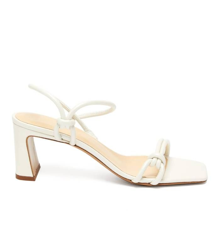 By Far Charlie Knotted-Strap Leather Sandals