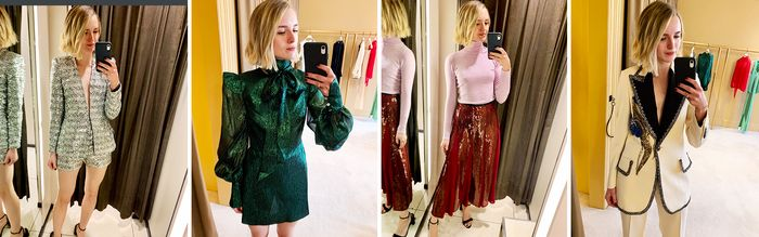 """I Just Tried on 20 """"Wow"""" Party Outfits—From Gucci to Zara"""