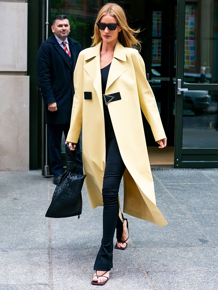 Rosie Huntington-Whiteley: Winter Outfit Formula