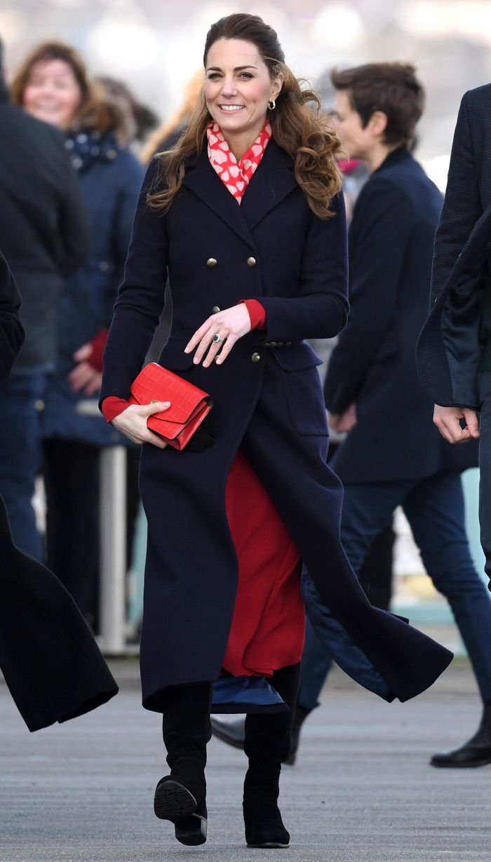 Kate Middleton Zara red dress: