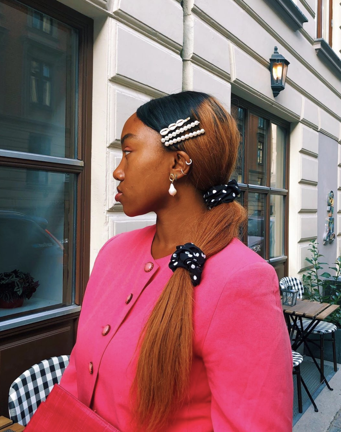 24 Party Hairstyles From Our Fave Celebs And Fashion Friends Who What Wear Uk