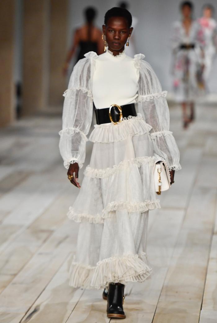 Alexander McQueen Dresses Runway Spring 2020