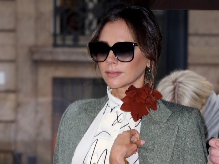 Victoria Beckham Boarded a Train With One of the World's Most Expensive Handbags