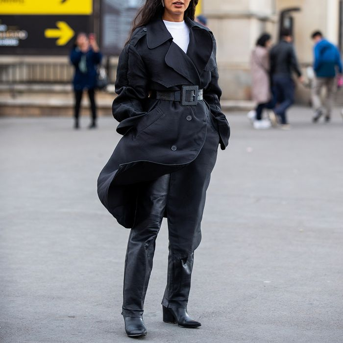 All Black Winter Outfit Street Style