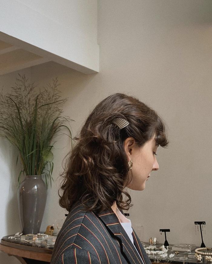 Wavy hairstyles: Alyssa Coscarelli