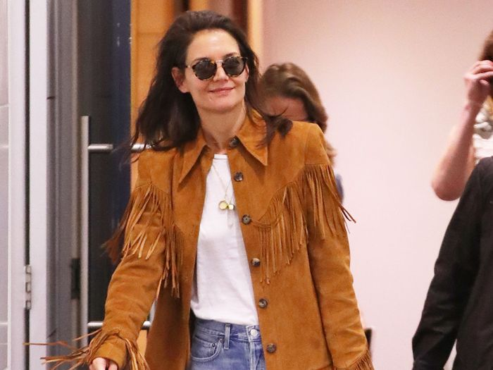 Katie Holmes and I Agree—These Are the Only Comfortable Jeans to Fly In