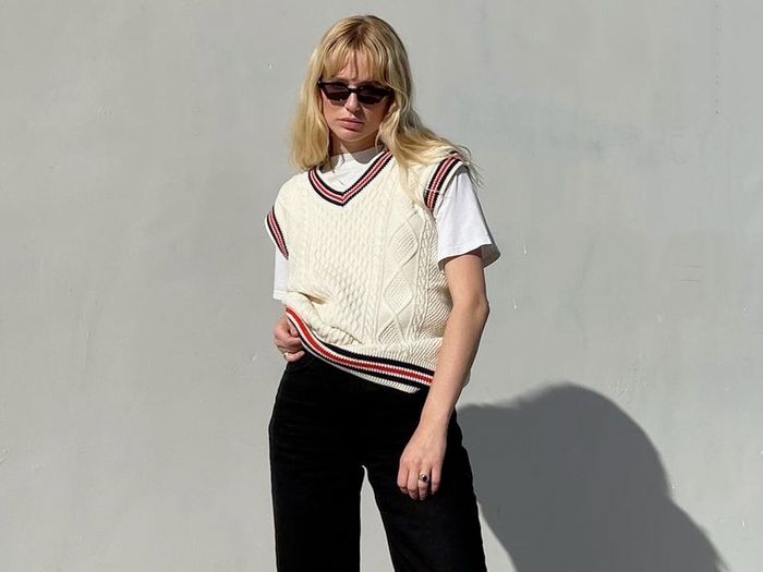 I'm a Knitted Vest Fan, and These Are the Outfits I Want to Try This Autumn