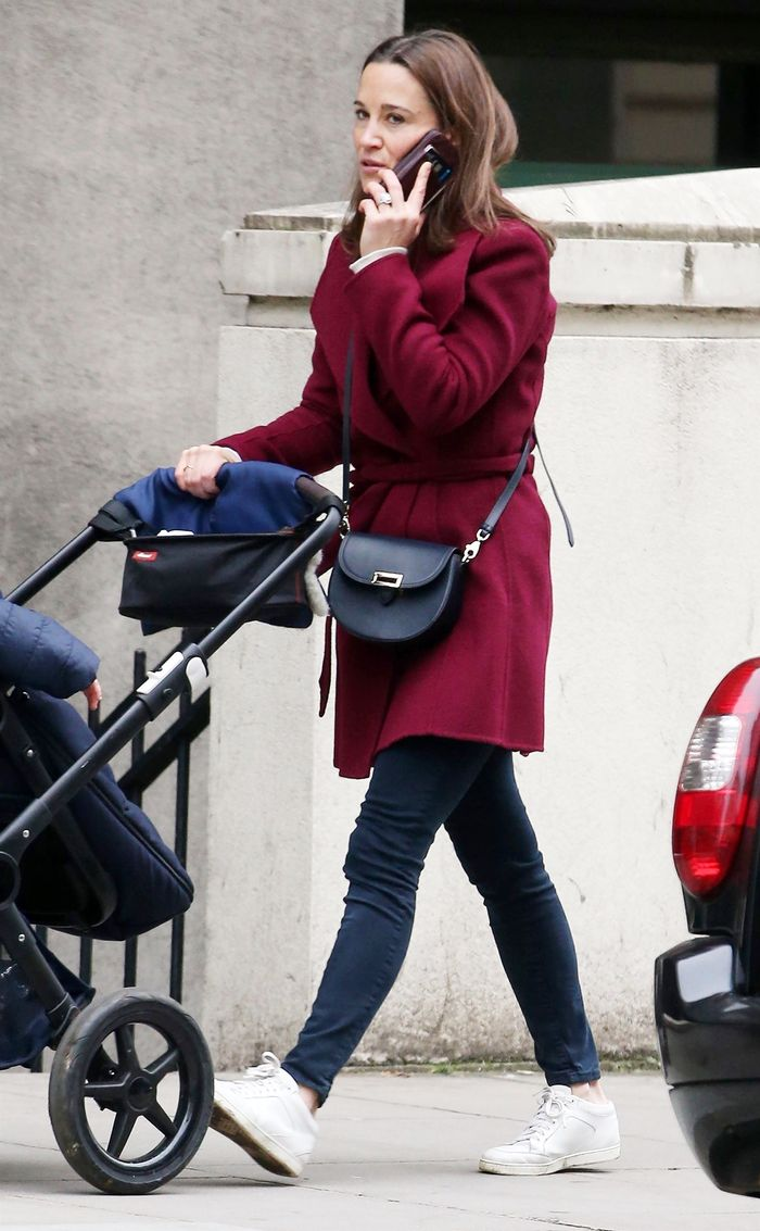 Pippa Middleton Wore the It Bag Only British Girls Know About