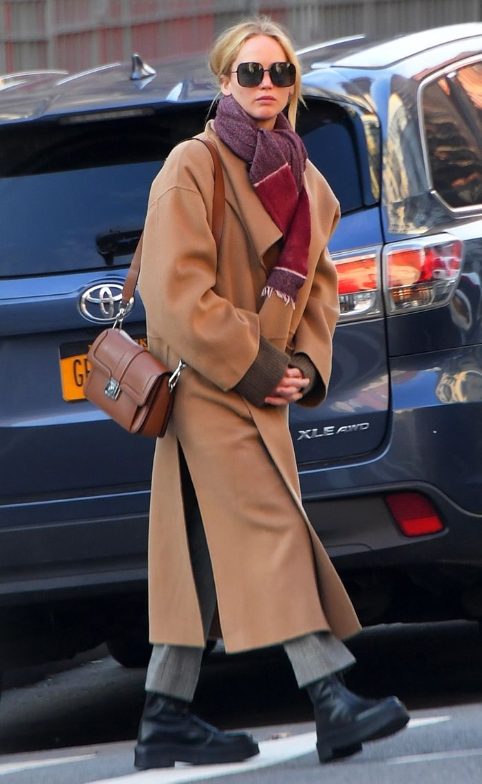Jennifer Lawrence NYC boots