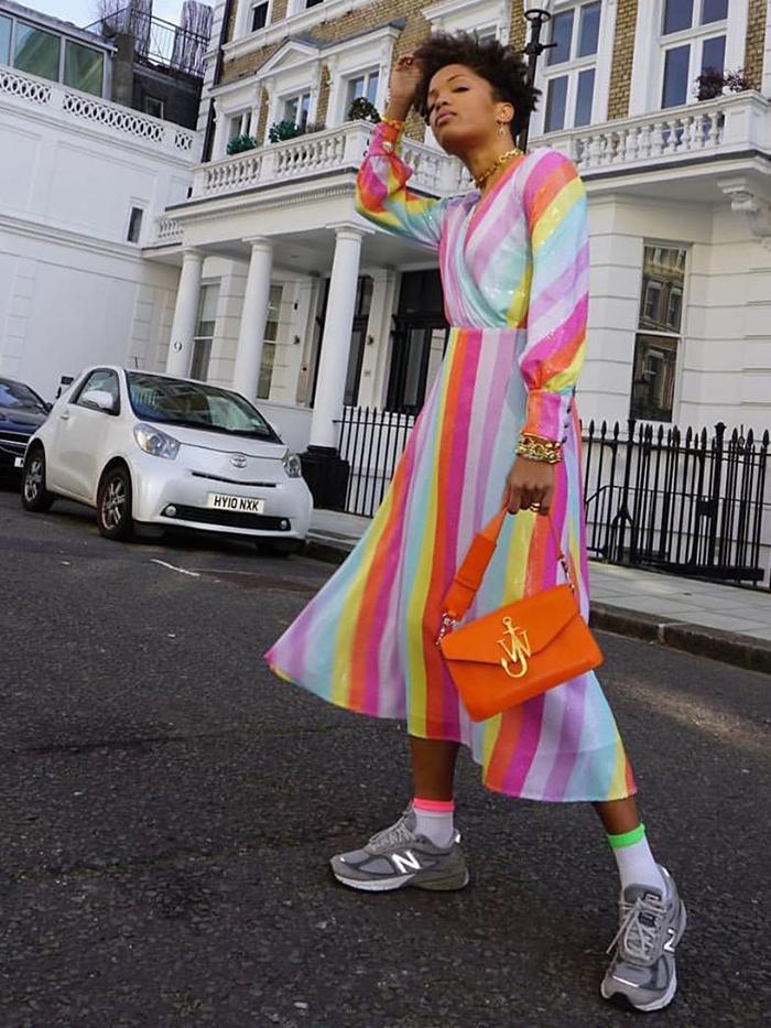 Slip Into Style: Olivia Rubin Dress