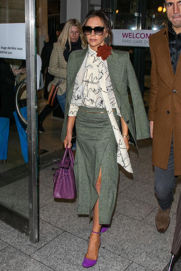 Victoria Beckham: Skirt Suit