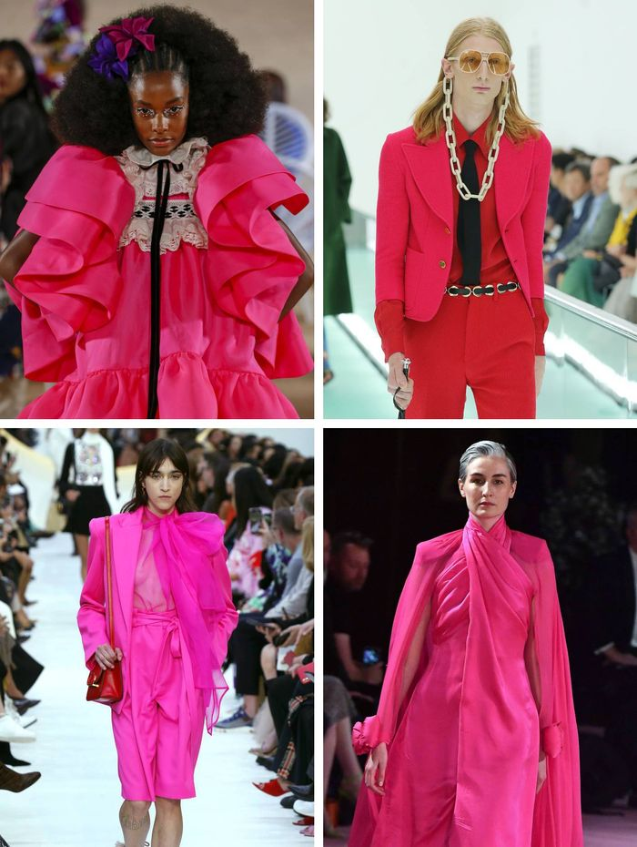 colour trends 2020: Hot Pink