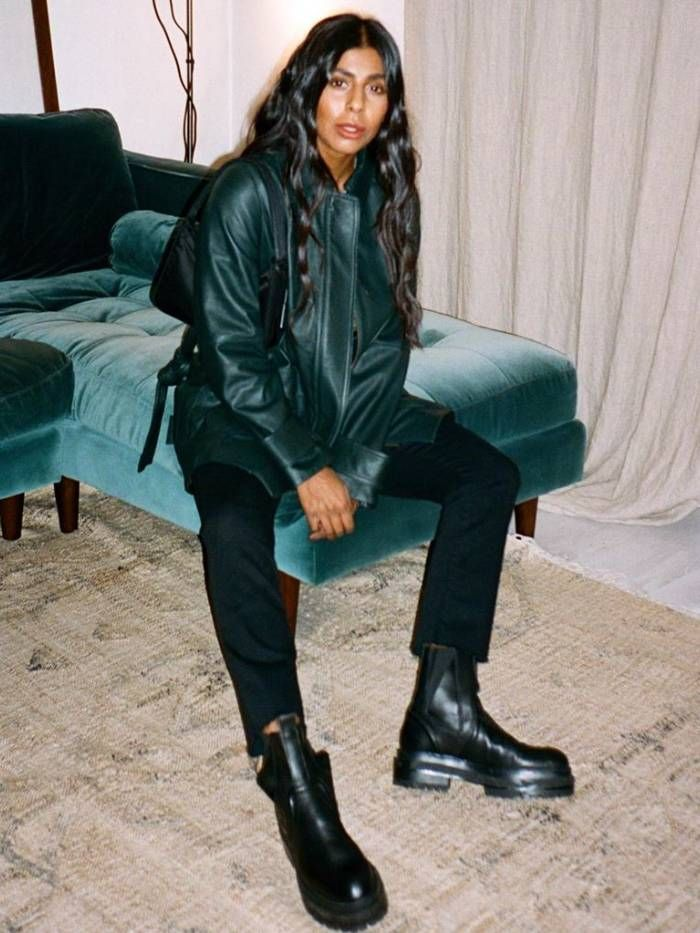 track sole boots trend: Monikh