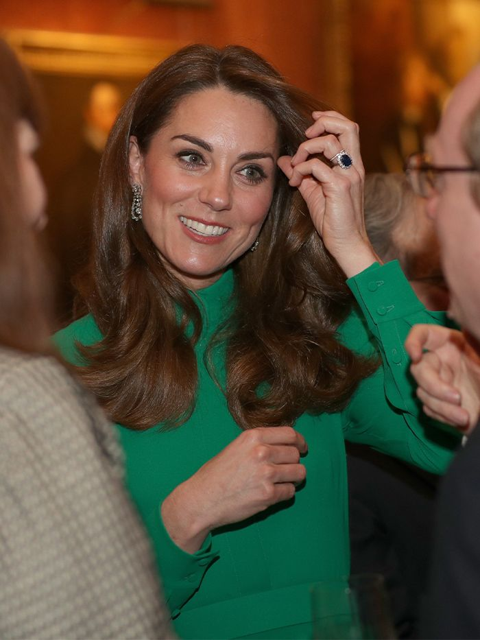 All of Kate Middleton's December Outfits Revolve Around This Color Palette