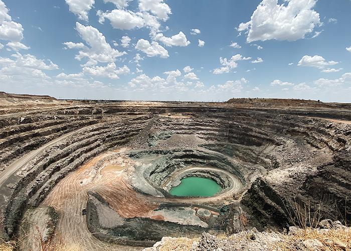 Diamond Mine in Africa