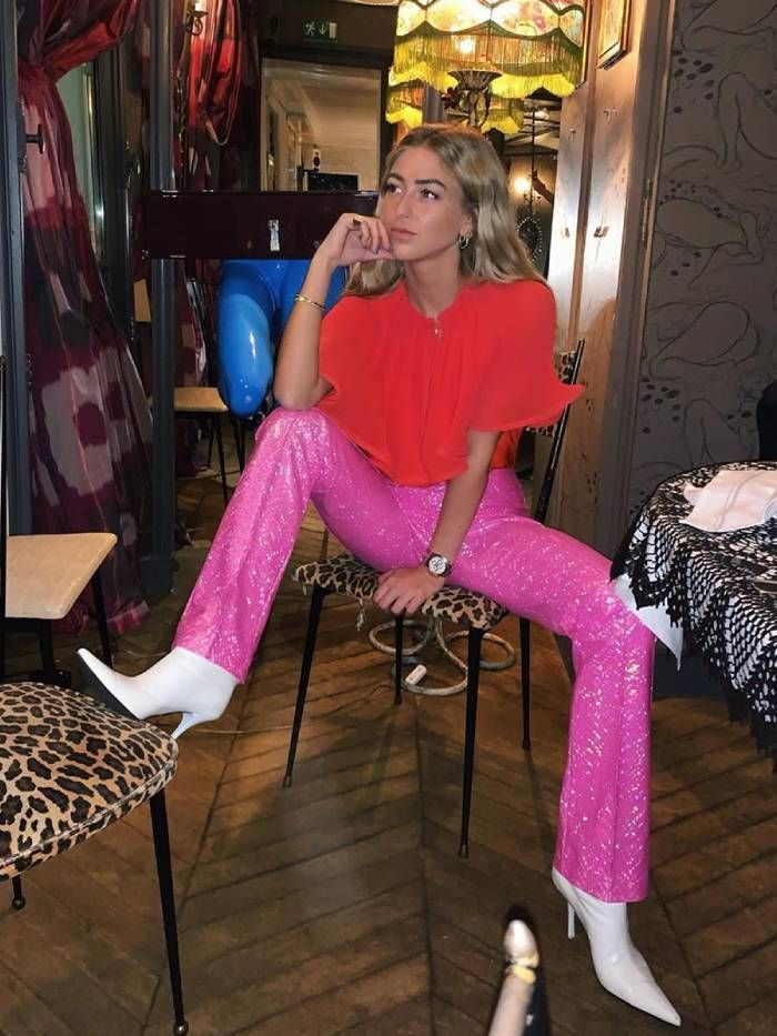 best sequin trousers: emili sindlev