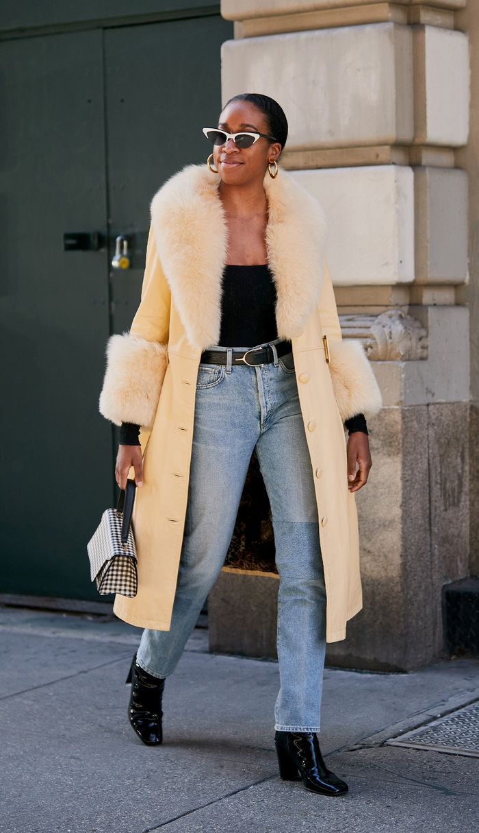 Coat to wear with jeans