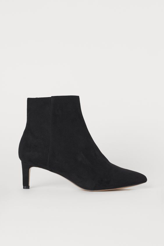 H&M Ankle Boots with Pointed Toes