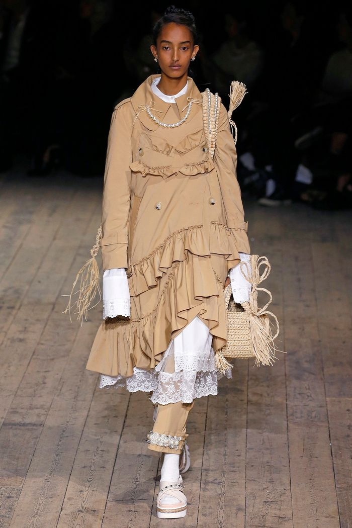 Simona Rocha Runway: Pearl Trousers