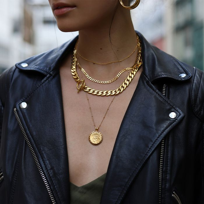 Layering Gold Jewelry