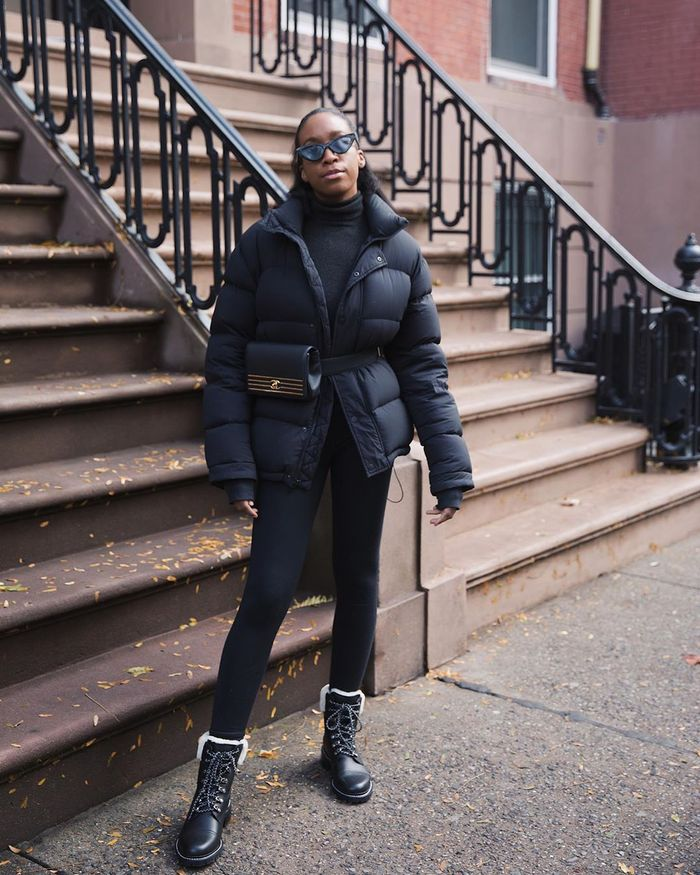 Easy Outfit Idea With a Puffer Coat