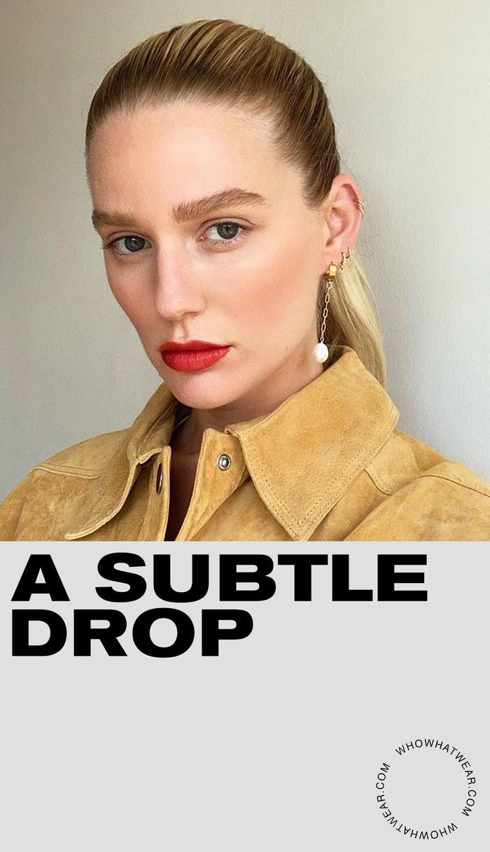 Pearl Drop Earring Trend