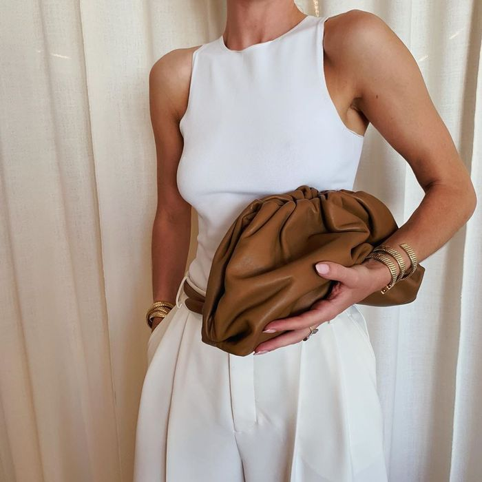 Best Bottega Veneta Bags: Rosie Huntington-Whiteley is a huge fan of Bottega Veneta bags